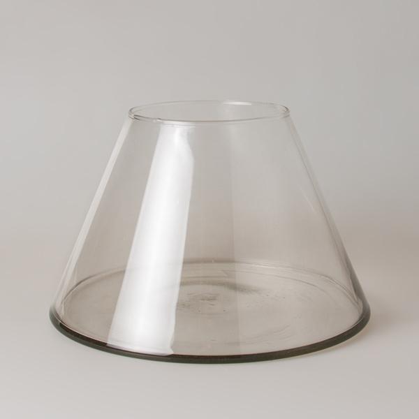 Простое стекло ваза