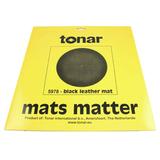 Мат Для Проигрывателя Виниловых Пластинок (Tonar Black Leather Mat 5978)