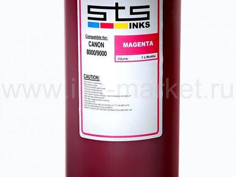 Пигментные чернила STS для Canon iPF5000, iPF5100, iPF6000, PF6100, iPF6200, iPF6300, PF6350, iPF6400, iPF6300, iPF6350, iPF8000, iPF8100 magenta (1000 мл)