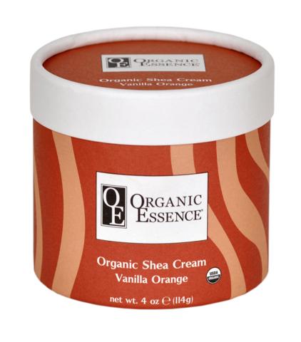 Organic Essence. Органический крем Ши (Карите) , Ваниль и апельсин (114 гр)