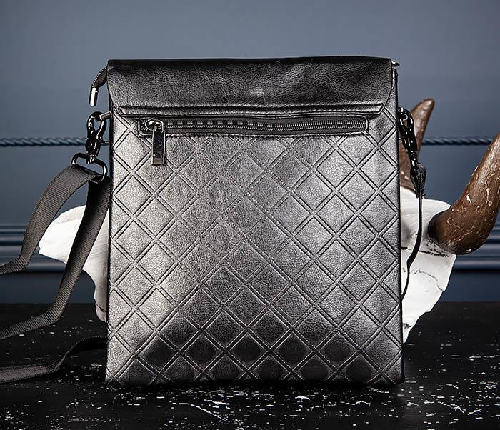 BAG559-1-1 Стильная мужская сумка планшет из кожи фото 08