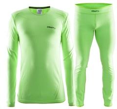 Комплект термобелья мужской Craft Comfort (green)