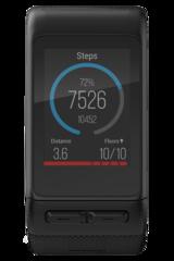 Беговые часы Garmin Vivoactive HR черные большой размер