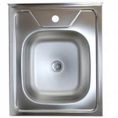 Мойка КромРус ЕС-208 3,5 для кухни из нержавеющей стали, универсальная