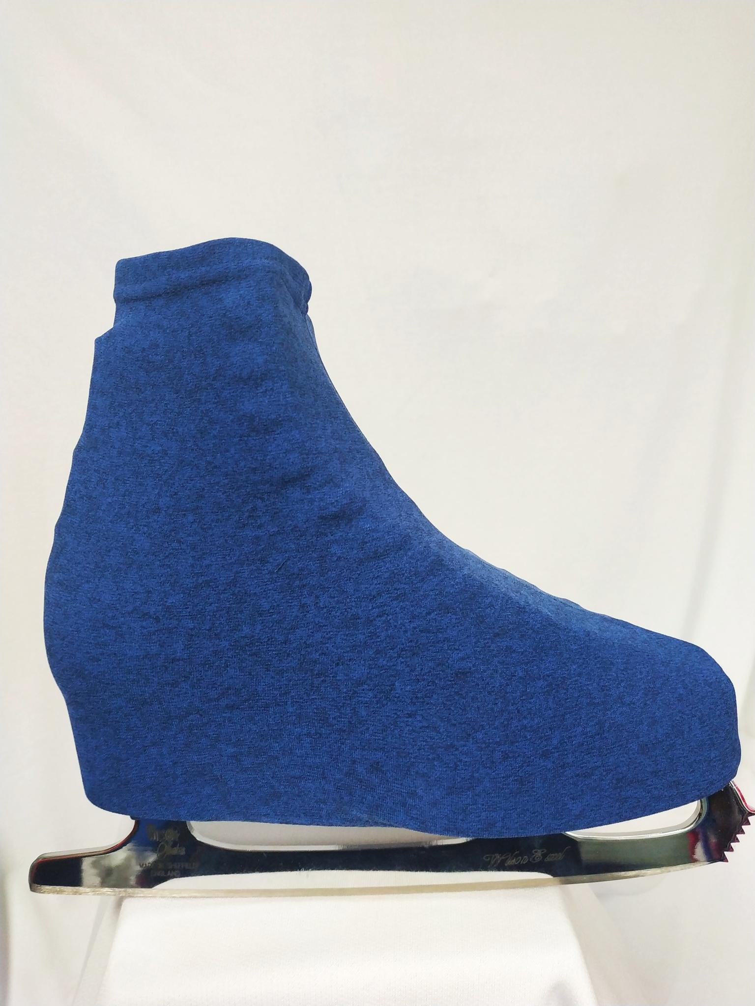 Чехлы для ботинок (синий меланж)