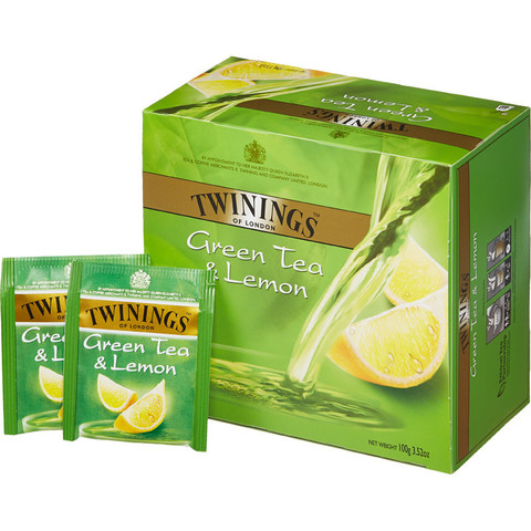 Чай Twinings Green tea & Lemon зел. 50 пак/уп