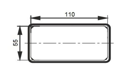Соединитель-муфта 110х55