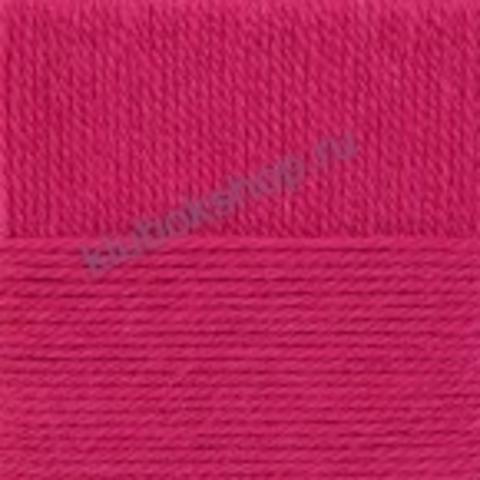 Пряжа Осенняя (Пехорка) цвет 439 малиновый
