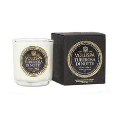 Ароматическая свеча Voluspa Ночная тубероза в маленьком подсвечнике
