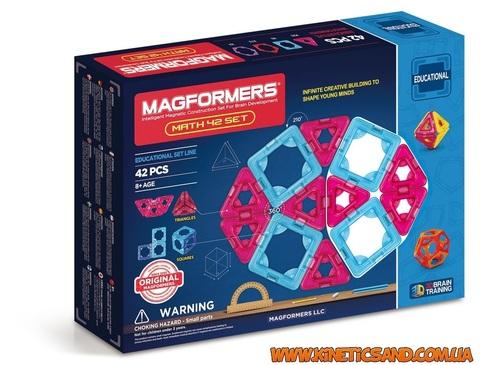 Magformers Математический набор, 42 элемента