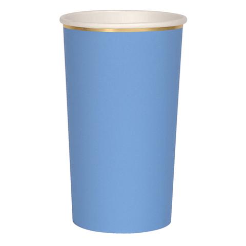 Стаканы голубые
