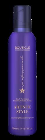 Мусс-объем для волос сильной фиксации - Bouticle Artistic Style Volumizing Mousse Strong Hold - 300 мл
