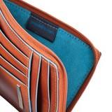 Чехол для кредитных карт Piquadro Blue Square оранжевый кожа (PU1243B2/AR)