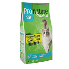 Pronature Original 28 Cat Adult Seafood Delight