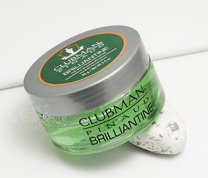 RAZ28001 Гель-бриллиантин для укладки волос Clubman Brilliantine (100 мл)