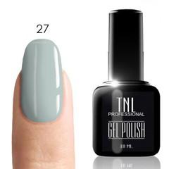 TNL, Гель-лак № 027 - ниагара (бледно-голубой) (10 мл)