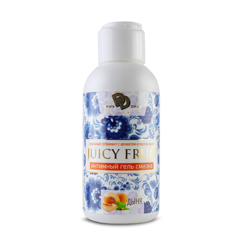 JUICY FRUIT Интимный гель 100 мл с ароматом Дыня фото
