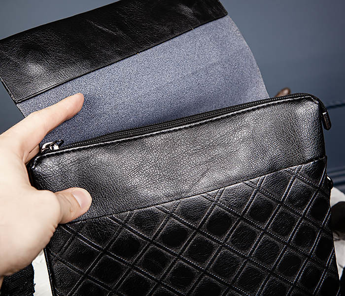 BAG559-1-1 Стильная мужская сумка планшет из кожи фото 10