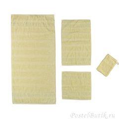 Полотенце 50x100 Cawo Noblesse 1001 нежно-желтое