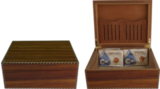Хьюмидор для сигар Savoy Marquis Caramel Medium / HSAMCBM
