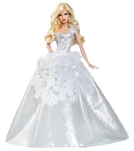 Коллекционная кукла Барби  2013 г. - Праздничная, Mattel