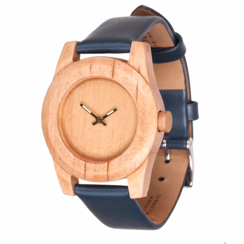 Часы из дерева AA Wooden Watches Леди Груша