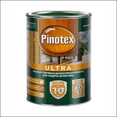 Пропитка для защиты деревянных оснований Pinotex ULTRA (красное дерево)