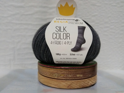 Пряжа Regia Premium Silk Color купить