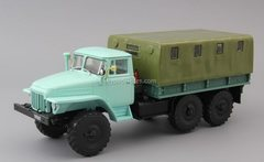 Ural-375D flatbed truck with awning 1:43 DeAgostini Auto Legends USSR Trucks #43