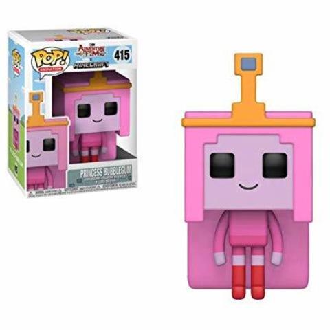 Princess Bubblegum Adventure Time - Minecraft Funko Pop! Vinyl Figure || Принцесса Жевачка