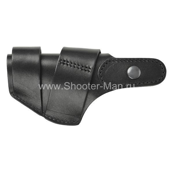 Кобура кожаная для пистолета Стечкина поясная ( модель № 9 )