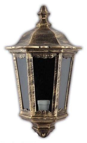 Светильник садово-парковый, 60W 220V E27 черное золото , IP44 , 6206 (Feron)