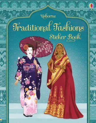 Kitab Traditional Fashions Sticker Book   Emily Bone