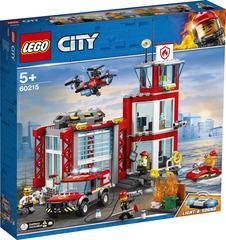LEGO City Пожарное депо