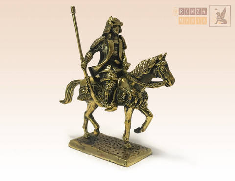 фигурка Японский воин на коне