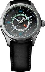 Наручные часы  Traser P59 Aurora GMT Silver 107231 (кожа)