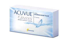 Johnson & Johnson - Acuvue Oasys with Hydraclear Plus (12 линз)
