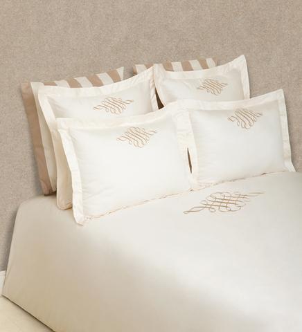 Постельное белье 2 спальное евро Luxberry Monogramm