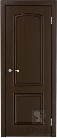 Дверь Крона Порто 2, цвет венге, глухая