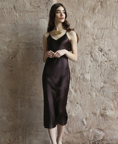 Платье-комбинация Эспрессо