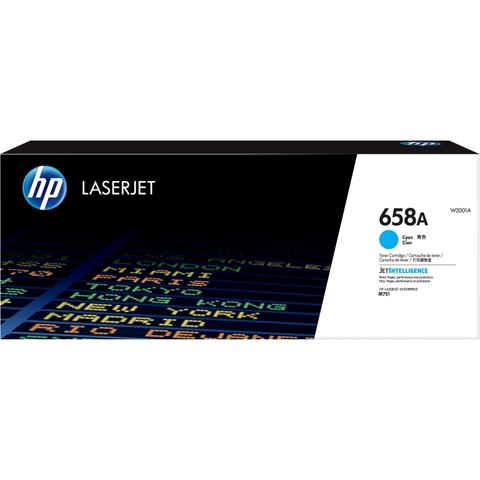 Картридж HP 658A голубой (W2001A)