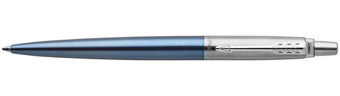 Шариковая ручка Parker Jotter Essential Waterloo Blue CT