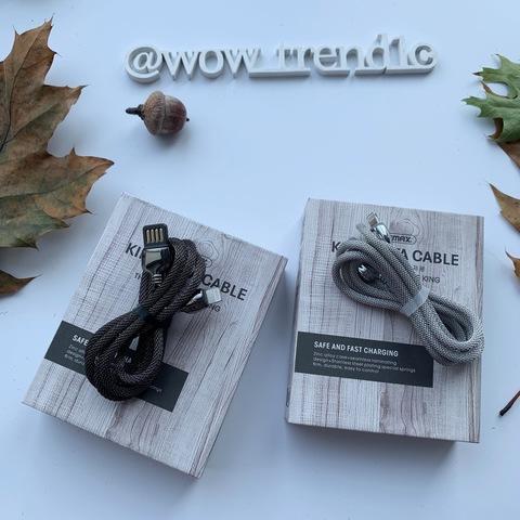 USB кабель Lightning 100cm Remax King RC-063i /silver/