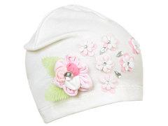 76761-2 шапка детская, кремовая