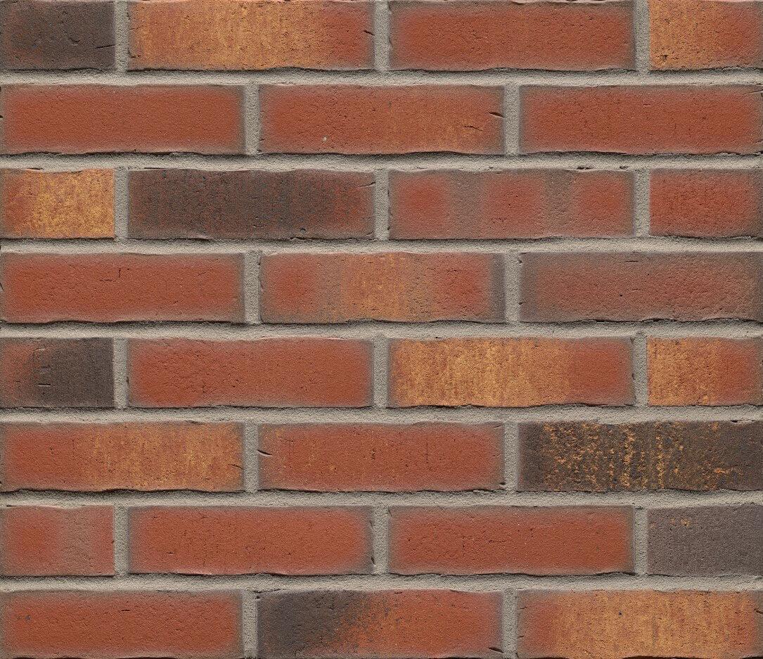 Плитка под кирпич Feldhaus Klinker, VASCU, R744NF14, поверхность Wasserstrich, carmesi legoro
