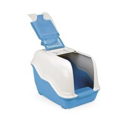 MPS Био туалет NETTA 54*39*40 см с совком  (голубой, коричневый)