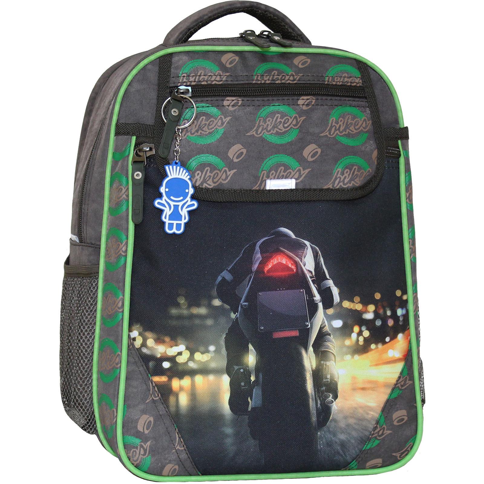Школьные рюкзаки Рюкзак школьный Bagland Отличник 20 л. 327 хаки 270к (0058070) IMG_5123_270к_.JPG
