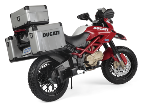 Детский электромотоцикл Peg-Perego Ducati Enduro