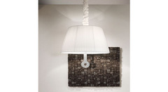 Italamp 793 SC Gommato Bianco White Soft Touch Sw_Elements — Потолочный подвесной светильник LOLA SOFT