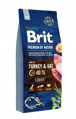 Корм для собак всех пород, Brit Premium by Nature Light, контроль веса